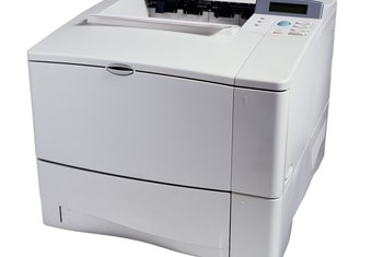 Laser printers are quiet and produce sharp, clear output.