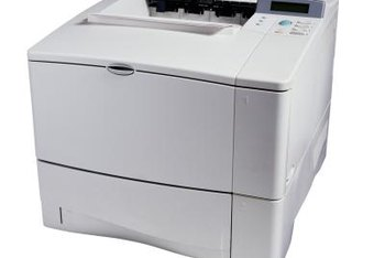 Laser printers include a single transfer roll, drum and fuser.