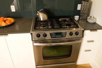 Most self-cleaning ovens have a lock to keep the door closed during self-cleaning.