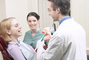 Dentists emphasize preventive measures to help patients maintain healthy teeth.
