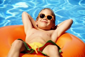 Keep your pool sparkling clean to avoid bacterial and algae growth.