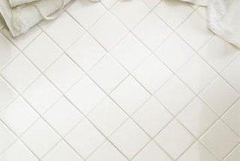 DITRA provides a strong, stable base for bathroom tile.