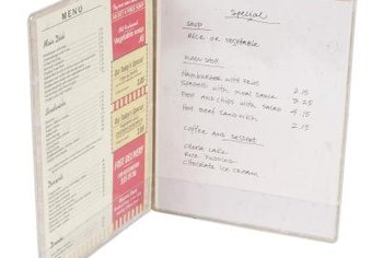 Reformat the menu to promote the most inexpensive food items.
