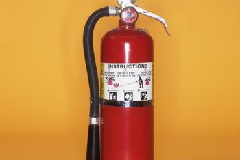 Emergency preparedness requires periodic inspections of fire extinguishers.