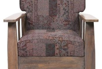 A well-preserved upholstered antique rocker is a treasure to pass along to the next generation.