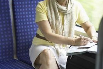 Taking notes during your travels will help ensure ample material for articles.