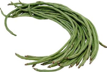 "Long beans have a more intense ""bean"" flavor than other green beans."