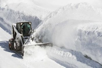 Promote your snow-removal business with creative advertising.