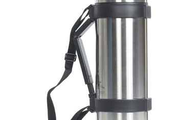 Thermos flasks are a common example of vacuum insulation.