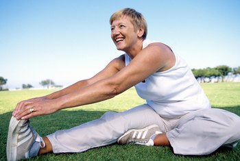Stretching the hips improves joint range of motion and flexibility.