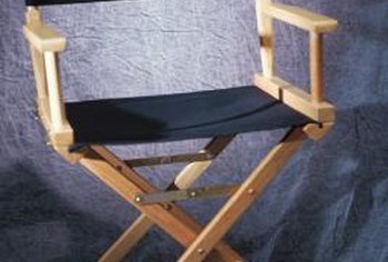 Change the seat on your director's chair when it become worn.