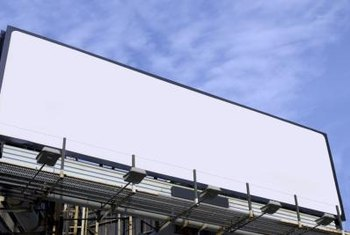 The billboard is among the most common forms of outdoor marketing.
