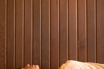 Taking a sauna after a swim will warm and relax you.