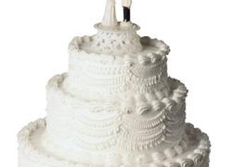 Designing wedding cakes can be a lucrative business choice.