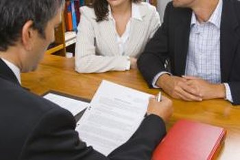 Divorce lawyers make sure their clients receive a fair settlement.