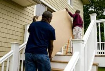 Homeowners associations may regulate exterior remodeling projects.