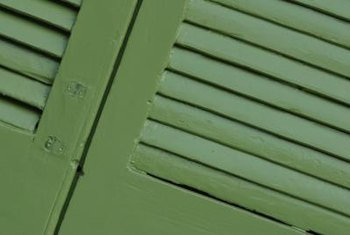 Shutters offer a challenging renovation project for homeowners.