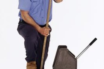 Work as a substitute custodian can be physically taxing at times.