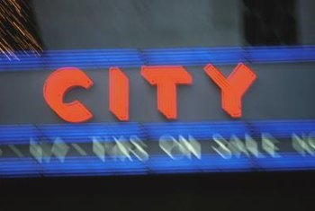 Advertise products and attract new customers with an LED sign.