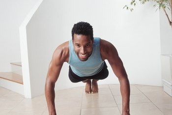 Fingertip pushups will strengthen your hands.
