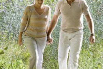 Strength training can help seniors walk better.