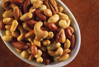 Nuts are rich in healthy fats and protein, which increases satiety.
