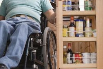 Pantries should be designed with accessibility in mind.
