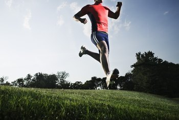 Run to increase cardiovascular fitness and lift weights to gain strength.