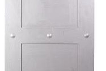 Steel doors provide an excellent thermal barrier but rarely match a home's existing decor.