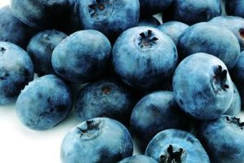 Frozen conventional blueberries are slightly less toxic than fresh.