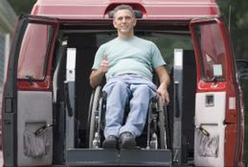 Federal and state programs help individuals and organizations purchase handicap vans.