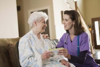 Personal care nurses draw the highest salaries in a nonclinical setting.