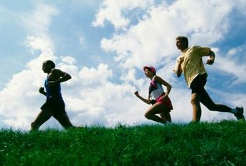 Jogging increases endurance and strength.