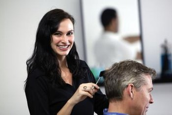 Your education, skills and even your personality can help you get a job in cosmetology.