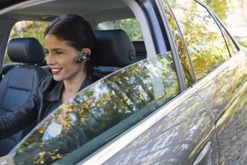 If you're on the go while on a call, toggle on your bluetooth headset.