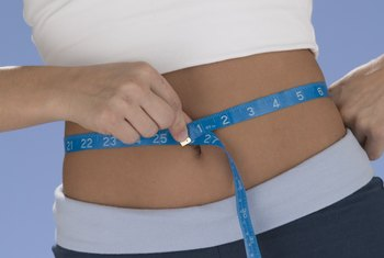 Diet and exercise can take inches off your waist.