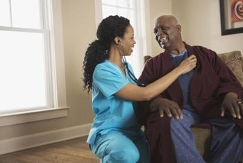 Most patient care technicians work in nursing homes.