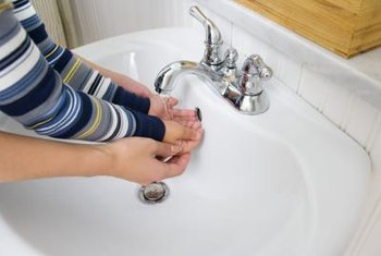 Pop-up drains eliminate the risk of losing the sink's plug because it is installed into the drain.