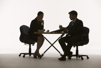 Managers should conduct staff appraisals in quiet areas that allow for confidential discussion.