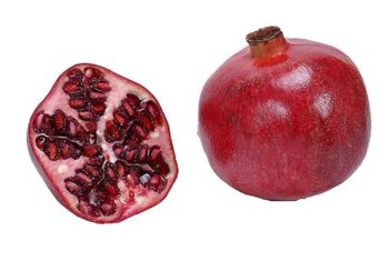 Pomegranates supply carbohydrates for energy.
