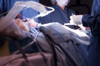 Surgical techs assist before, during and after surgery.