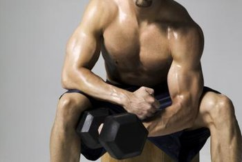Weightlifting is a vital part of getting ripped.