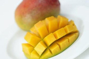 A mango contains only a trace amount of sodium.