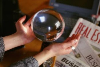 Business forecasting requires statistics rather than a crystal ball to see into the future.