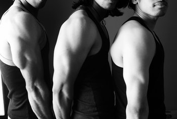 Triceps exercises engage all three heads of your triceps.