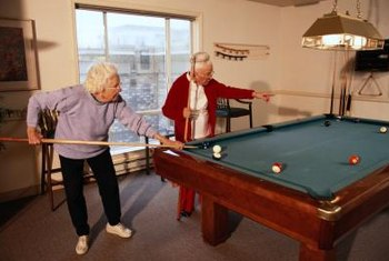 Recreation is essential for healthy living in senior communities.