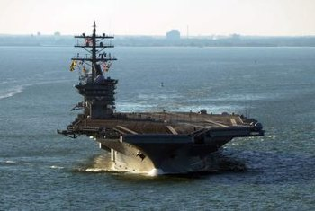 Navy aircraft carriers require two nuclear reactors plus skilled engineering operators.