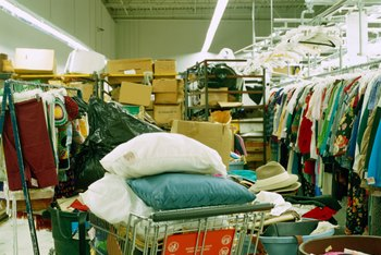 Legal issues for thrift stores include the safety of the inventory.