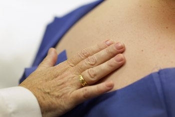 Screening patients for skin cancer is part of a dermatologist's work.