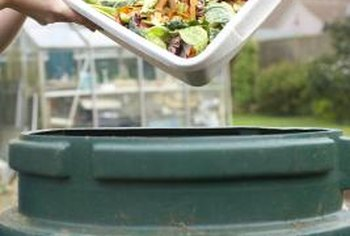Composting is one way to improve garden soil for less.